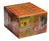 Sony mini DV 60min 5-pack