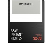 Impossible Black & White Film for SX-70