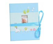 Henzo Babyalbum Accordeon Blauw