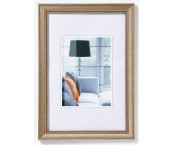 Lounge 20x30 staal polystyreen lijst